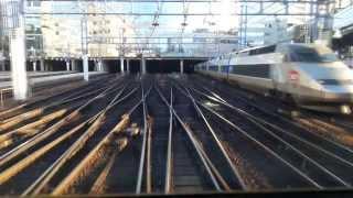 Entrée en gare de Paris Montparnasse