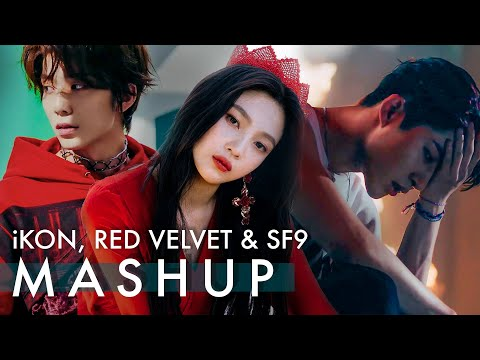 iKON x RED VELVET x SF9 – Killing Me /Peek-A-Boo /Now Or Never (죽겠다 /피카부 /질렀어) MASHUP