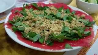 Pho Xe Lua Bo Tai Chanh Oc Goi Mango Sago Quail Egg Desserts