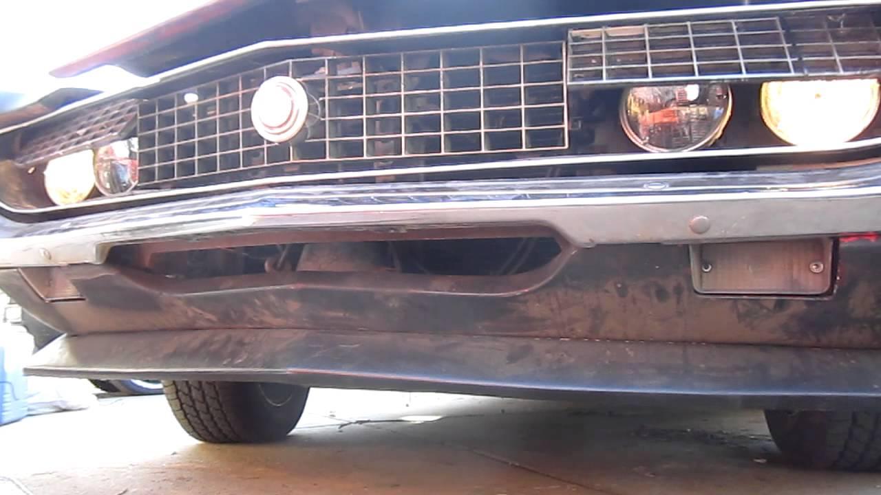 1970 torino gt convertible hidden headlights operation
