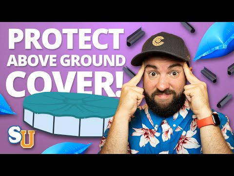 How to Protect Your Above Ground Pool Cover from Winter Weather