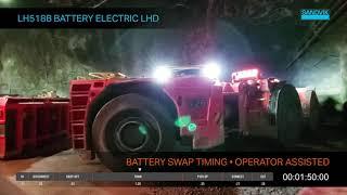 LH518B Battery Electric LHD - Battery Swap