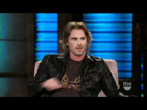 Sam Trammell on Lopez Tonight 6202011