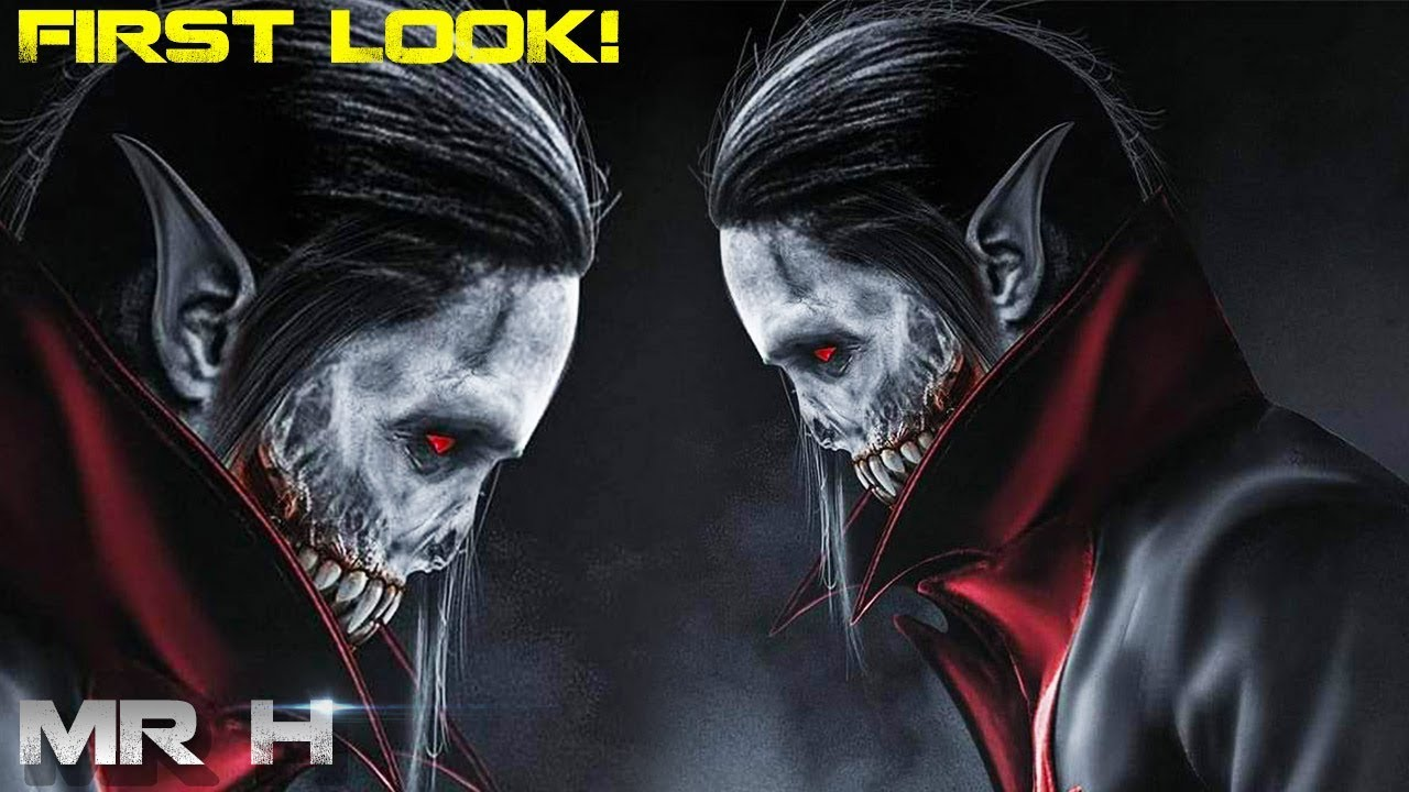 First Look Jared Leto As Michael Morbius Morbius The