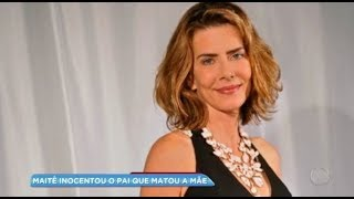 Hora da Venenosa: Maitê Proença relembra assassinato da mãe a facadas pelo pai