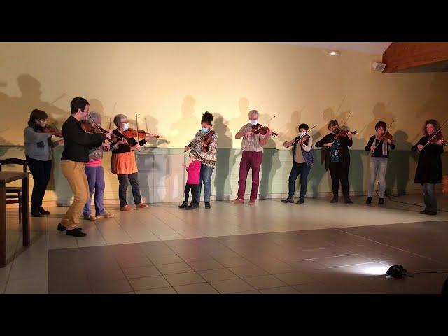Final du Concert de Garbiel Lenoir avec les stagiaires violons !