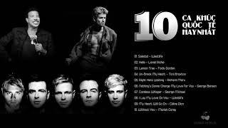 Top 10 ca khúc quốc tế hay nhất thập niên 1990-2000