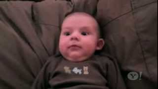 Viral Video  Baby Jackson is Scared by Daddy's Snoring   Yahoo!