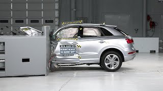 2016 Audi Q3 driver-side small overlap IIHS crash test