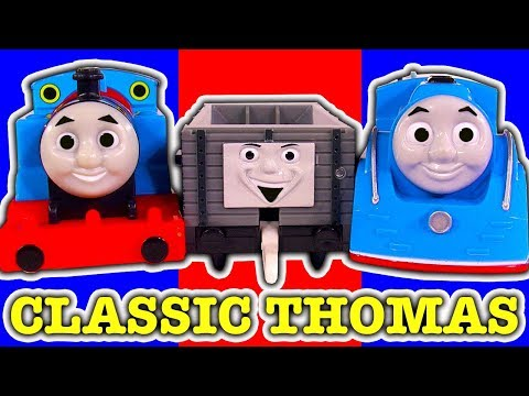 Thomas Trackmaster Busy Day On Sodor TOMY Streamlining Thomas & Train Crashes