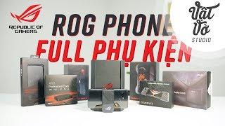 Trải nghiệm vali phụ kiện 20 củ của ROG Phone