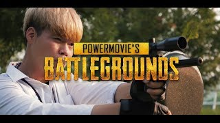 BATTLEGROUNDS in REAL LIFE for POWER MOVIE!