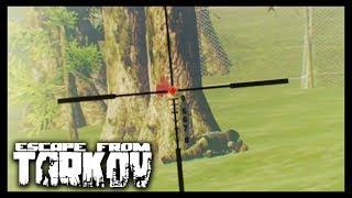 Escape from Tarkov - Sniper Training - Finding my Range