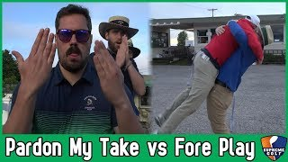 Pardon My Take vs Fore Play, a Golf Match Presented By Supreme Golf