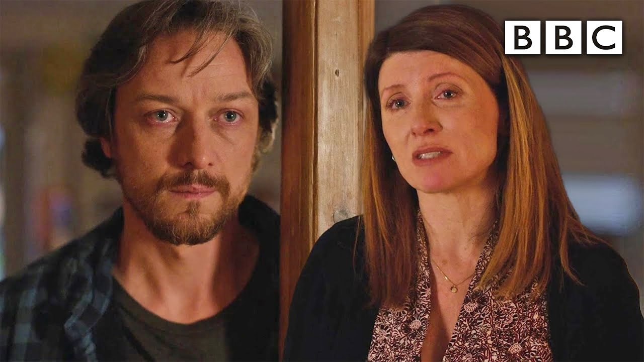 Losing a parent to covid: James McAvoy and Sharon Horgan's heart-breaking scene - BBC