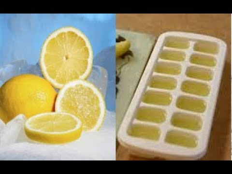 AFTER YOU SEE WHAT HAPPENS, YOU'LL FREEZE LEMONS FOR THE REST OF YOUR LIFE