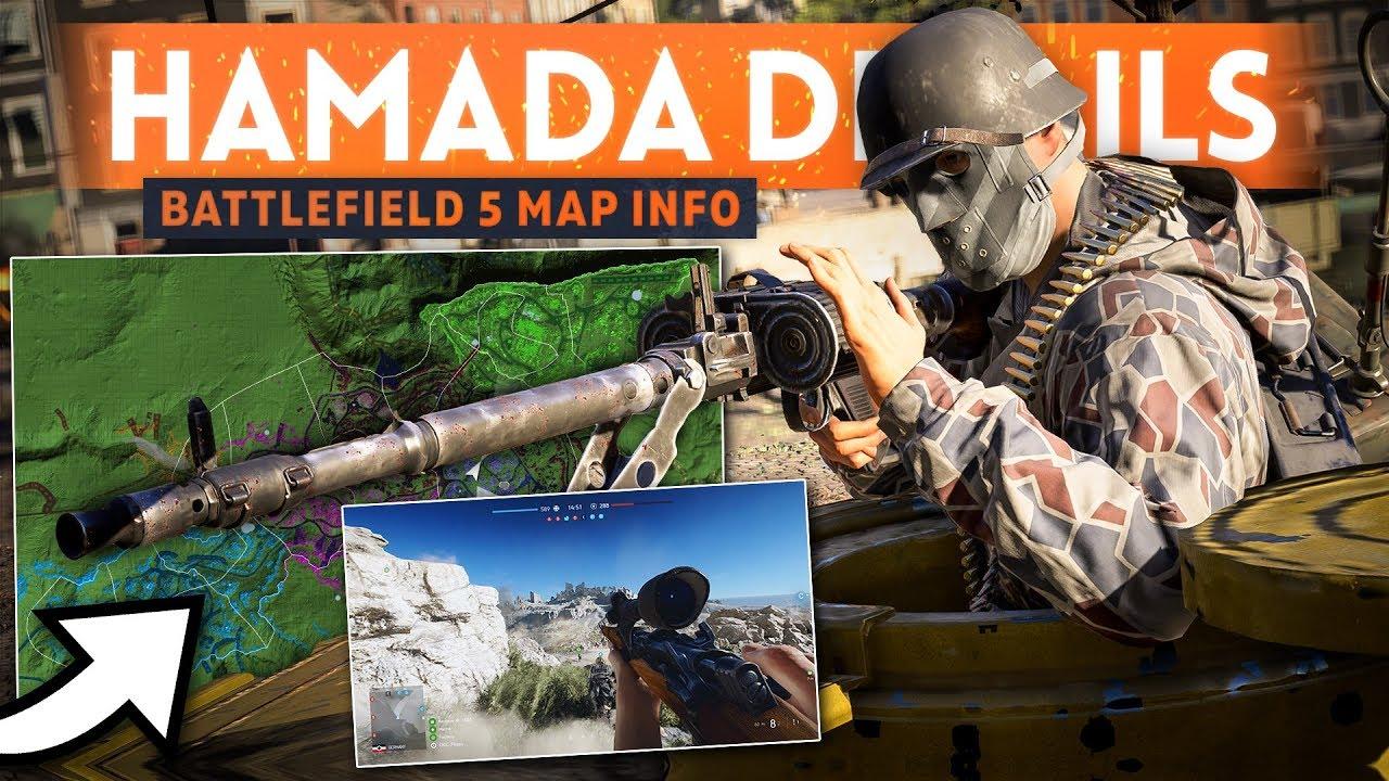 HAMADA MAP DETAILS + Arras Map Overview! - Battlefield 5 New Gameplay Info (Development Update)