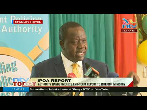 CS Matiang'i vows to preserve laws that keep IPOA's independence