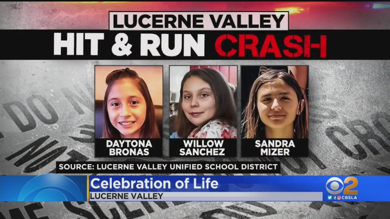 Celebration Of Life Held For Willow Sanchez In Lucerne Valley