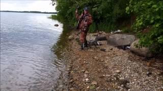 Река Волга. Фидер. Июнь 2014 года.