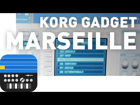 Korg Gadget - Marseille - Instrument Tour (Part 2)