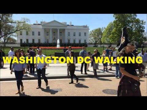 Washington DC walking - The White House, Dupont Circle and Embassy Row