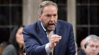 Mulcair to Trudeau: Remove criminal pot records
