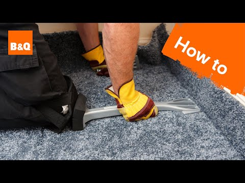 How to fit carpet part 2: fitting & trimming carpet