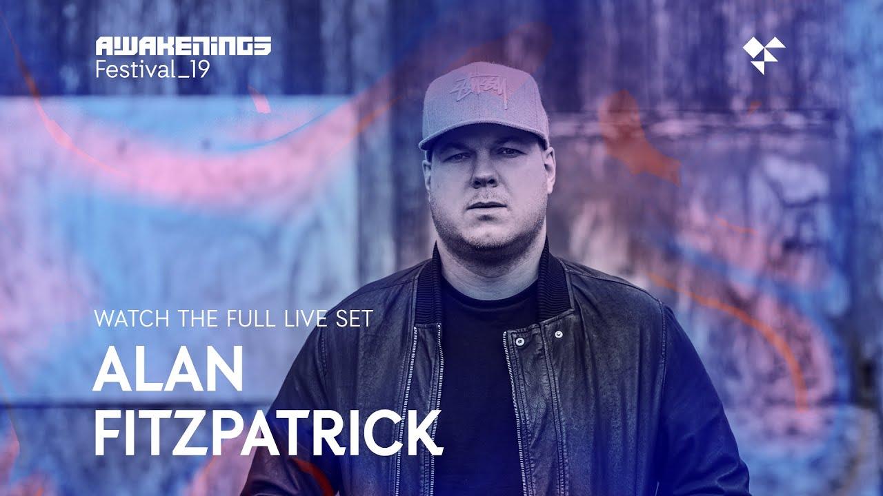 Download Awakenings Festival 2019 Sunday - Live set Alan Fitzpatrick @ Area W