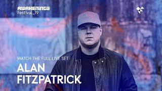 Awakenings Festival 2019 Sunday - Live set Alan Fitzpatrick @ Area W