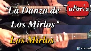 Danza de los Mirlos - Los Mirlos Tutorial/Cover Guitarra