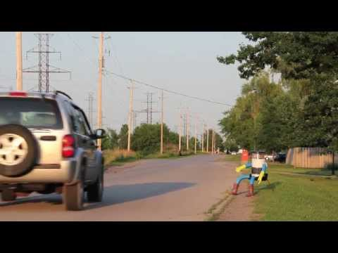 Meet HitchBOT - A Hitchhiking Robot Traveling From Coast To Coast This Summer