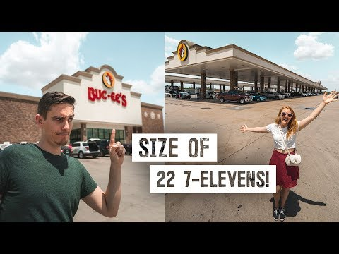 We Visited the WORLD'S LARGEST Gas Station & Convenience Store! (Buc-ee's, New Braunfels, TX)