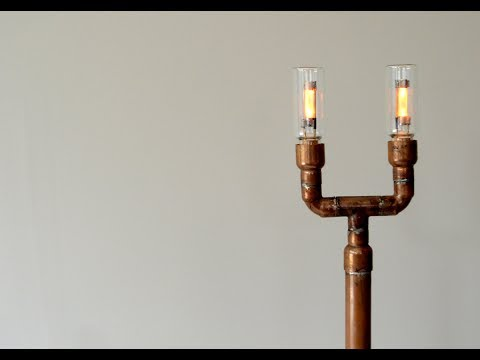 Copper tube and LED lamp