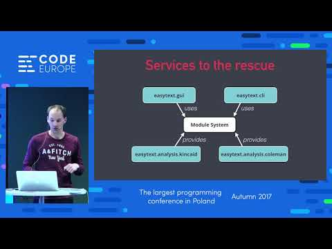 Designing for Modularity With Java 9 - lecture by Sander Mak - Code Europe Autumn 2017