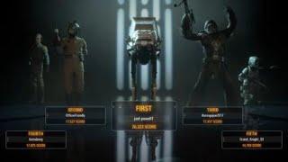 35 man AT-AT Killstreak (Galactic Assault) (Star Wars:Battlefront 2)