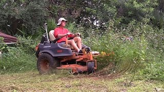 The Riding Brush Mower, The Brush Rover Overview - Orec