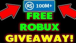 Robux giveaway 2019