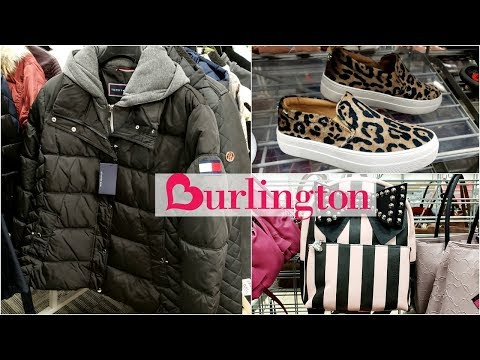 BURLINGTON SHOP WITH ME COATS SHOES HANDBAGS 2018 WALK THROUGH