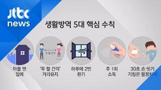 '고강도 거리두기' → '생활방역' 전환 논의…5대 핵심 수칙 보니 / JTBC 뉴스ON