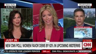 Brooke Baldwin tells guest he cannot use the word 'mob' about the mob of leftists