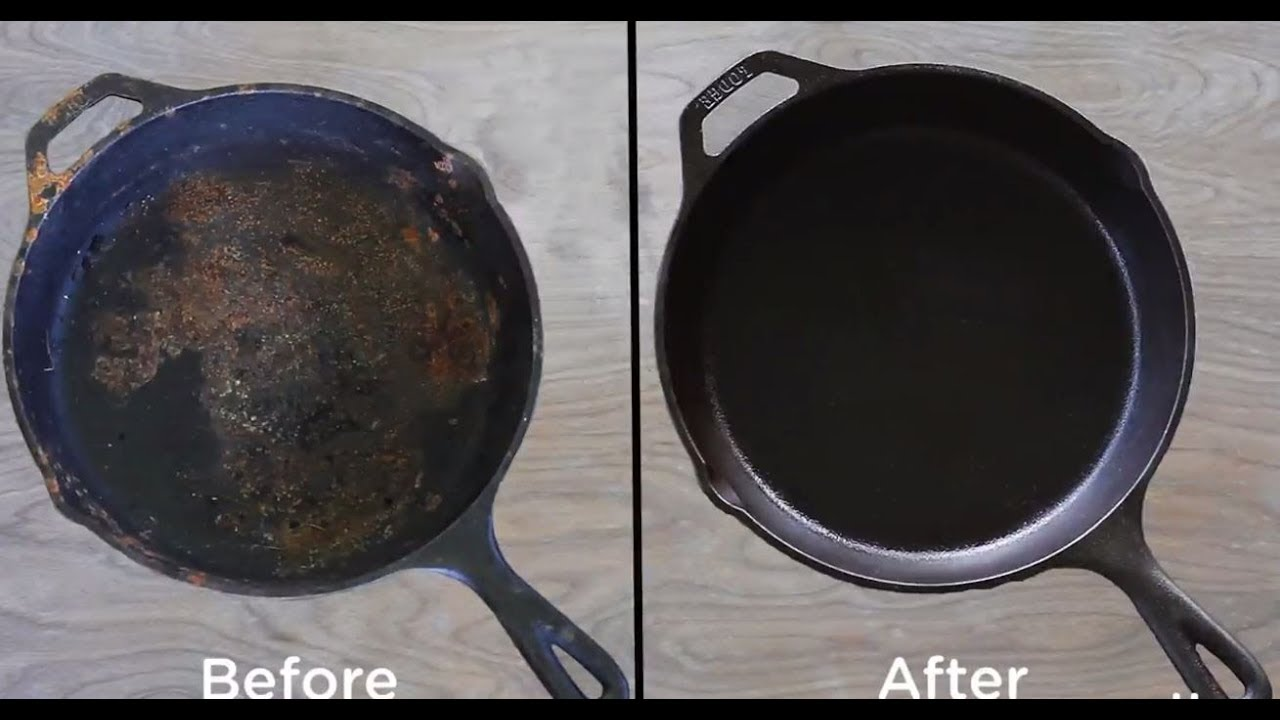 How to Clean and Refurbish Cast Iron Cookware - Hobby Farms