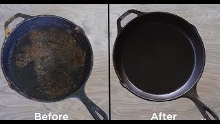 How to Clean and Restore a Cast Iron Skillet
