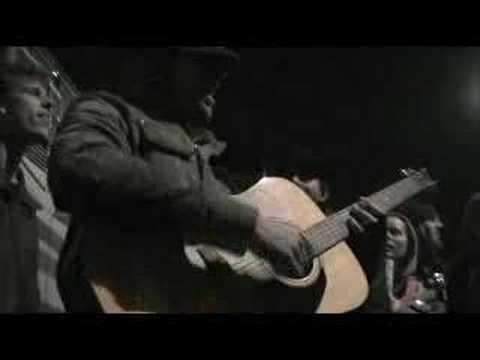Jon Foreman (Switchfoot) playing 'Twenty-Four' on my guitar