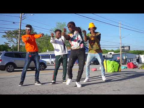 Trippin Red- Rookie of the year Dance Video W/ the Guys |@GhostXLeo