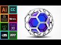 3D Logo Design   Adobe Illustrator CC  