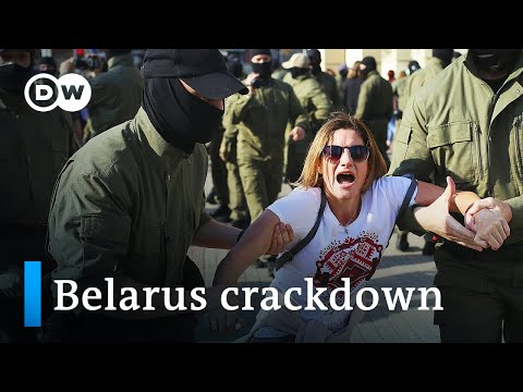 Belarus protests continue after Lukashenko's secret inauguration | DW News