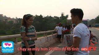 Chạy xe máy hơn 200km để tỏ tình