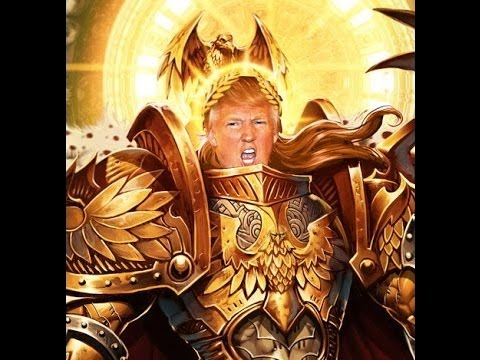 meet the god emperor of mankind