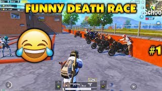 Pubg mobile | Death racing | Under section 192😂🤣